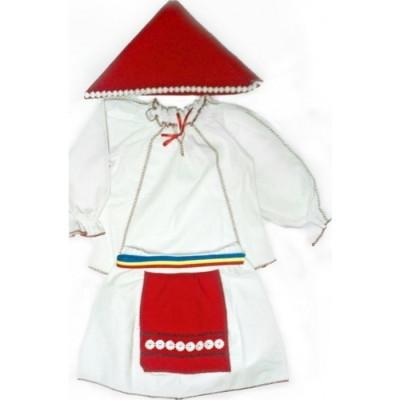 Costum national fetite 7 ani foto