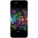 Husa silicon pentru Apple Iphone 8, Rainbow Colored Soap Bubbles