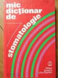 Mic Dictionar De Stomatologie - Gafar Memet Gloria Radu Elena Stanciu ,525250