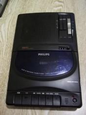 Casetofon portabil philips , raritate foto