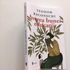 TEODOR BACONSCHI, AVEREA BUNEI EDUCATII
