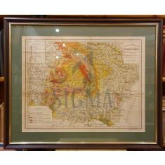 I. POPESCU - VOITESTI - HARTA GEOLOGICA A ROMANIEI MARI