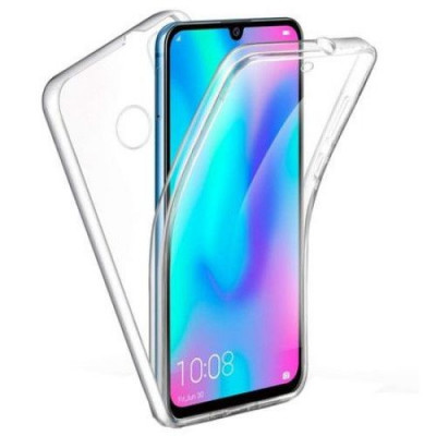 Husa 360 (fata+spate) silicon transparent pentru Samsung A10 foto