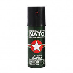 Spray autoaparare NATO, 60 ml, husa inclusa, Oem