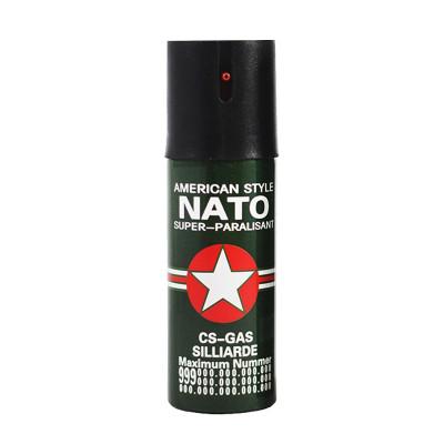 Spray autoaparare NATO, 60 ml, husa inclusa foto