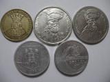 Romania (78) - 20 Lei 1991, 100 Lei 1993, 1994, 500 Lei 1999 + Eclipsa solara