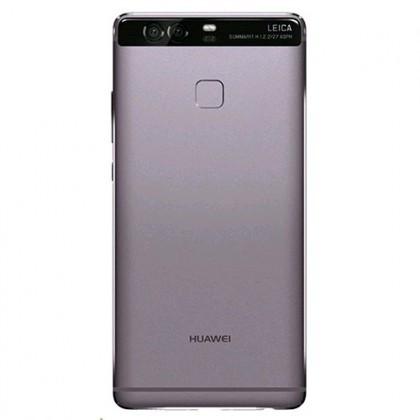 Capac Baterie Grey cu geam camera geam blitz si senzor amprenta, Huawei P9 , Swap