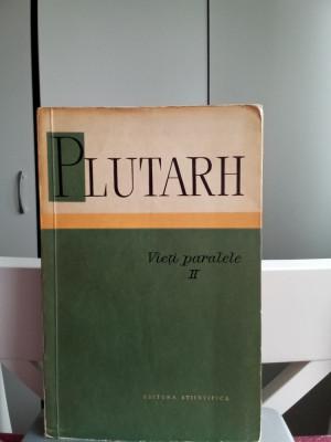 Vieți paralele - 1- Plutarh foto