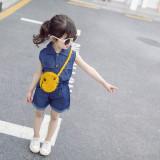 Costumas din blug subtire pentru fetite (Marime Disponibila: 3 ani)