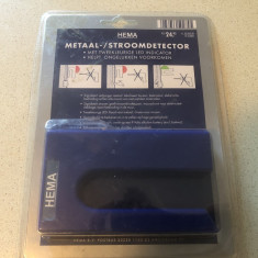 Detector Hema, de metale,cablaje in pereti,sigilat
