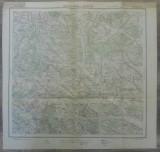 Baia de Arama si Brosteni// harta Serviciul Geografic Armatei 1916