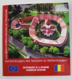 LES EGLISES FORTIFIEES SAXONNES DE TRANSYLVANIE par HANNA DERER et AUGUSTIN IOAN , EDITIE BILINGVA FRANCEZA - GERMANA , 2004