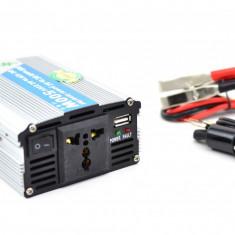 Invertor auto 500W Chaomin 12V - 220V cu iesire USB