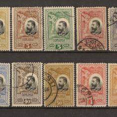 1906 L.P. 61 stampilat 16 Lei