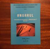 Anuarul Colegiului Național FERDINAND I BACĂU (2005 - Ca nou!)