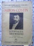 LETOPISETUL TARII MOLDOVEI EDITIE INGRIJITA DE IOAN ST. PETRE-MIRON COSTIN