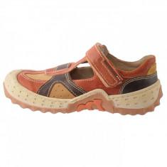 Pantofi copii, din piele naturala, marca Melania, 2924-38-2, maro