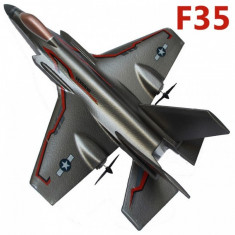 SUPER AVION R/C F35STUNT AIRCRAFT ,TEHNOLOGIE 2,4GHZ, AVION SUPERSONIC R/C.NOU.
