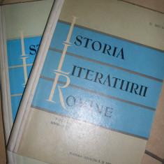 Istoria Literaturii Romane Vol 1-2 - D. Micu ,549478