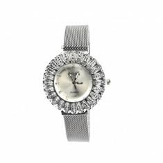 Ceas de mana dama elegant cu bratara prindere magnetica Geneva, F03-209AR