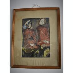 Constantin Baciu  (1930-2005) , pictor si grafician roman - personaje feminine