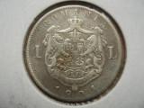 Cumpara ieftin ROMANIA - 1 LEU 1901 , Ag835 , CAROL I , L7.29