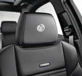 Sticker tetiera piele VW (set 5 buc)