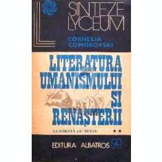 Literatura umanismului si renasterii, vol. 2