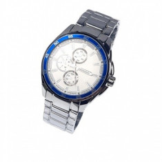 Ceas de mana barbati elegant, argintiu - Curren - 8076ALBSILVER