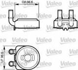 Radiator ulei, ulei motor CITROEN BERLINGO (MF) (1996 - 2016) VALEO 817705
