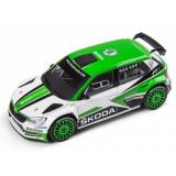 Macheta Skoda Fabia Motorsport R5 1:43 R5 2017 Oe Skoda 000099300BF
