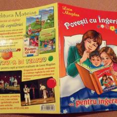 Povesti cu Ingeri...pentru ingerasi!  Carte ilustrata pentru copii - Leon Magdan