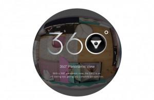 Camera de supraveghere EbitCam™ EBF2-X, WIFI, 5.0MP 1944p, Vedere Panoramica 360