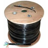 Cablu UTP Cabletech, CAT5E cupru cu gel negru, rola 305 m