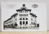 GALATI , SCOALA COMERCIALA , FOTOGRAFIE TIP CARTE POSTALA , MONOCROMA, NECIRCULATA , DATATA 1928