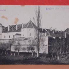 FAGARAS - VEDERE A CETATII DINTR-O PARTE - EDITATA IN 1918, MODIFICATA DUPA -