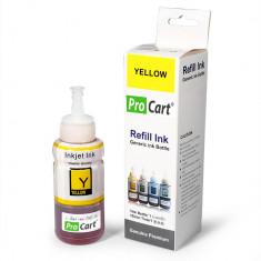 Cerneala refill foto DYE Yellow pentru Epson seria L