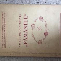 CICLUL DE CONFERINTE PAMANTUL