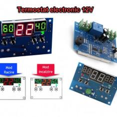 Termostat electronic clocitoare acvariu 12V sau 24V