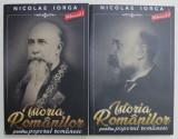 ISTORIA ROMANILOR PENTRU POPORUL ROMAN , VOLUMELE I - II de NICOLAE IORGA , 2020