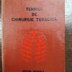 TEHNICI DE CHIRURGIE TORACICA VOL 1 C.COMAN 1979