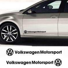 Sticker auto laterale VW (set 2 buc.)