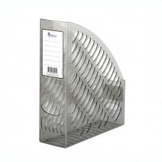 Suport dosar plastic Forpus 30205 fumuriu