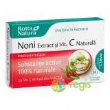Noni Extract + Vitamina C Naturala 30cpr