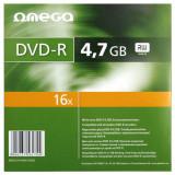 Mediu optic Omega DVD-R 4.7GB 16x 10 bucati