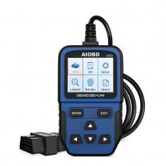 Tester auto profesional diagnoza OBDII, scanner erori emisie EOBD, CAN