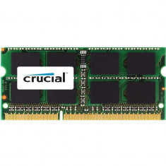 Memorie notebook Crucial 16GB, DDR4, 2400MHz, CL17, 1.2v, Dual Rank x8
