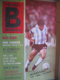 Revista Fotbal B (Nr.4/ 1990)