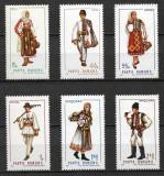 România - 1969 - LP 693 - Costume naționale (II) - serie completă MNH