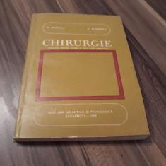 CHIRURGIE MANUAL CLASA XII V.NITESCU/P.FLORESCU EDITURA DIDACTICA 1985